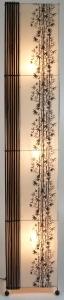 Stehlampe / Stehleuchte Borneo- in Bali handgemacht aus Naturmaterial, Bambus