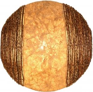 Wandlampe / Wandleuchte Sulawesi - in Bali handgefertigt aus Naturmaterial