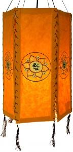 Reispapier Hängelampenschirm sechseckig Rice.4