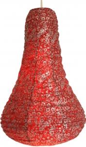 Lokta Papierlampenschirm, Hängelampe Corona Bell