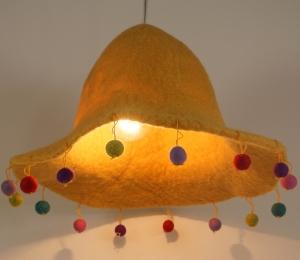 Kinderzimmer Lampenschirm Happy Hut