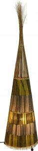 Stehlampe / Stehleuchte Volcano- in Bali handgemacht aus Naturmaterial