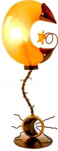 Tischleuchte Kokopelli Moon Lamp H1073