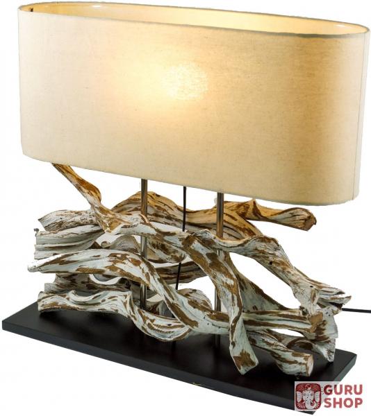 Tischlampe Tischleuchte Marimbula Handgefertigtes Unikat Aus