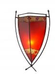 Henna - Leder Wandlampe / Wandleuchte Myra