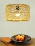 Deckenlampe / Deckenleuchte Royana - in Bali handgemacht aus Naturmaterial, Rattan