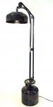 Stehlampe / Stehleuchte Gaslight, Industrial Style, Upcycling Lichtobjekt aus Altmetall - Modell Ritter Rost
