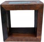Vintage Beistelltisch aus Recyclingholz