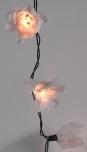 Lotus LED Lichterkette 20 Stk. - weiß