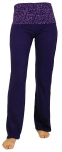 Damen Leggings, Stretch Sporthose für Frauen, Yogahose - violett