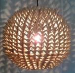 Deckenlampe / Deckenleuchte Dolorosa - in Bali handgemacht aus Naturmaterial, Reisstroh