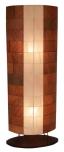 Konga corn Stehlampe / Stehleuchte- in Bali handgemacht aus Naturmaterial, Bananenblätter,