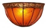 Henna - Leder Wandlampe / Wandleuchte Kalif
