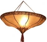 Henna - Leder Deckenlampe / Deckenleuchte Salem
