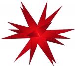 LED Ministern Baltasar für innen und außen - rot