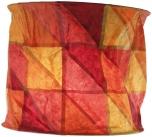 runde Papier Hängelampe, Lokta Papierlampenschirm Annapurna, handgeschöpftes Papier - sunset