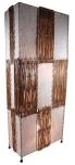 Stehlampe / Stehleuchte Tuvalu 100-150 cm - in Bali handgemacht aus Naturmaterial, Kokosfaser,