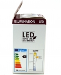 10 W LED Lampe E27 (806LM ~ 60W) - warmweiß