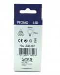 3,2 W LED Lampe E14 (250LM ~ 25W) - warmweiß