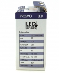 3,2 W LED Lampe E27 (250LM ~ 25W) - warmweiß