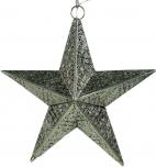 Orientalische Metall Leuchte im Stern Design als Decken oder Flurlampe verwendbar