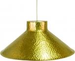 Messing Deckenlampe / Deckenleuchte Jabalpur, handgeschlagen