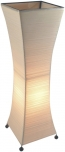 Tischleuchte / Tischlampe Titania-string-small- handgefertigte Designleuchte aus Bali, Baumwollfäden