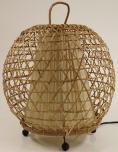 Tischlampe / Tischleuchte Miguel - in Bali handgemacht aus Naturmaterial