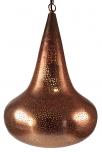 verkupferte deko Deckenleuchte in marrokanischem Design, orientalische Deckenlampe