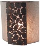 Wandleuchte Cleopatra stone - in Bali handgefertigt aus Naturmaterial, Lavastein,