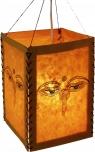Reispapier Hängelampenschirm - Buddha Augen