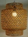 Deckenlampe / Deckenleuchte Royan - in Bali handgemacht aus Naturmaterial, Bambus