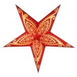 Faltbarer Advents Leucht Papierstern, Weihnachtsstern Apollon