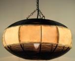 Leder Deckenlampe / Deckenleuchte Jaisalmer