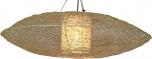 Deckenlampe / Deckenleuchte Miranda Flat - in Bali handgemacht aus Naturmaterial, Rattan,