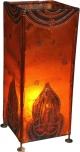 Henna - Leder Tischlampe / Tischleuchte Pushkar