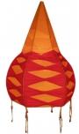 Deckenlampe/Deckenleuchte - Muck, in Bali handgemachte Stimmungsleuchte, Baumwolle