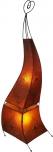 Henna - Leder Stehlampe / Stehleuchte Mauretania 118 cm