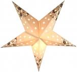 Faltbarer Advents Leucht Papierstern, Weihnachtsstern Vineta
