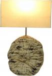 Tischlampe / Tischleuchte Medan - in Bali handgemacht aus Naturmaterial