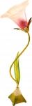 Tischleuchte Kokopelli Bell Flower H1284