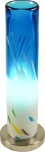 Tischleuchte Kokopelli Murano blau H1368