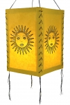 Reispapier Hängelampenschirm - Sonne