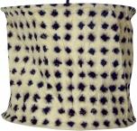 runde Papier Hängelampe, Lokta Papierlampenschirm Annapurna, handgeschöpftes Papier - weiß/schwarz