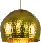 Messing Deckenlampe / Deckenleuchte Udaipur -2 , handgeschlagen