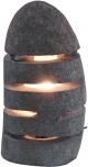 Tischlampe / Tischleuchte Rivera - in Bali handgemacht aus Naturstein