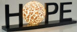 Hope Lichtobjekt - in Bali handgemacht aus Naturmaterial