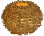 Tischlampe / Tischleuchte Margerita - in Bali handgemacht aus Naturmaterial, Rattan,