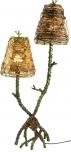 Tischleuchte Kokopelli Mangrove lamp 78cm H1435