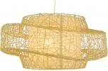 Deckenlampe / Deckenleuchte Tonga - in Bali handgemacht aus Naturmaterial, Rattan,